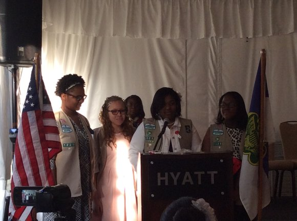 Girl Scout Cadette Troop 51221 of Lisle has 14 new shiny Silver Award recipients. The Girl Scout Silver Award is ...