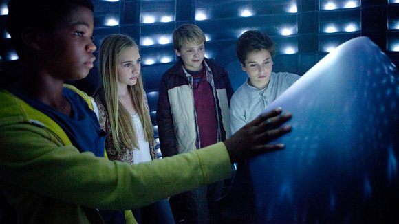Earth to Echo (PG for action, peril and mild epithets) Kid-friendly sci-fi, reminiscent of E.T. (1982), about a trio of ...