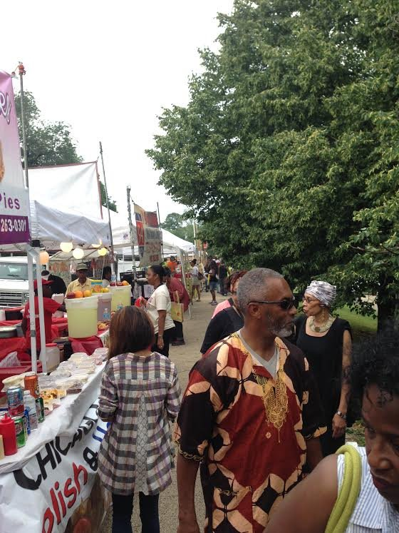 The DuSable Museum of African American History, 740 E. 56th Pl., held its 40th Annual Arts and Crafts Festival this ...