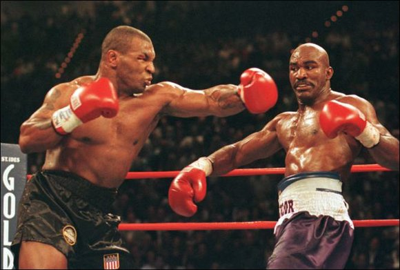 Mike Tyson says he's met with Oscar-winning actor, Jamie Foxx, about collaborating on a possible biopic on his life.