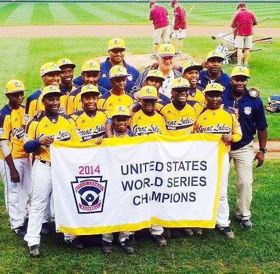 Chicago's Jackie Robinson West (JRW) All Stars, returned home as heroes on Monday after winning the U.S. title in the ...