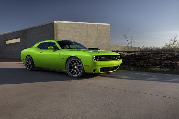 We came to the City of Roses to test drive the 2015 Dodge Challenger. But that was really a misnomer. ...
