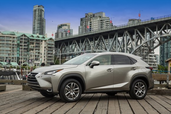 When it comes to the 2015 Lexus NX crossover, there's good news and then there is a cautionary yellow warning ...