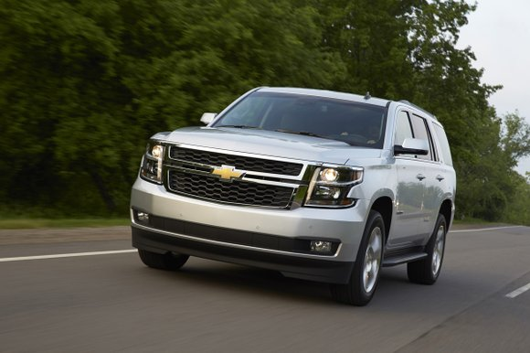 There's no other way to say it, the 2015 Chevrolet Tahoe was big. Our test vehicle had a 116-inch wheelbase, ...
