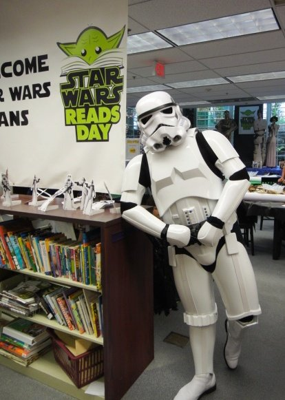 The inevitable intersection of reading, mini-golf, and Star Wars will take place at the Crest Hill Branch of the White ...