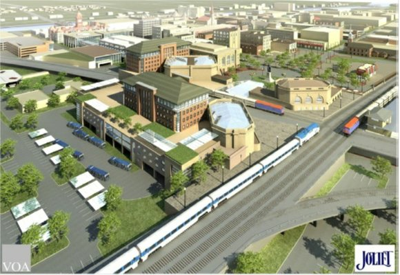 The next big step in the Joliet Gateway Center project comes Friday, when Metra and Amtrak rail services move from ...