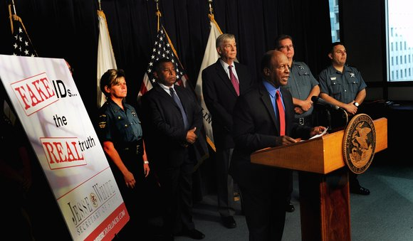 Illinois Secretary of State Jesse White launched a public awareness campaign urging college students and others to refrain from obtaining ...