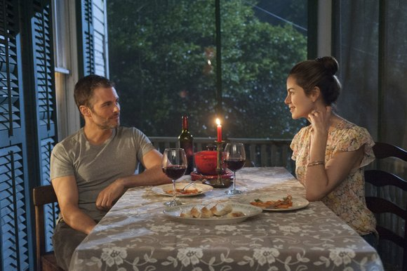 The Best of Me (PG-13 for sexuality, violence, brief profanity and some drug use) Romance drama based on the Nicholas ...