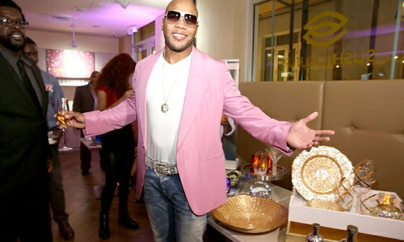 Global music superstar Flo Rida celebrated the launch of his new Pop Culture Living barware and home accessories line at ...