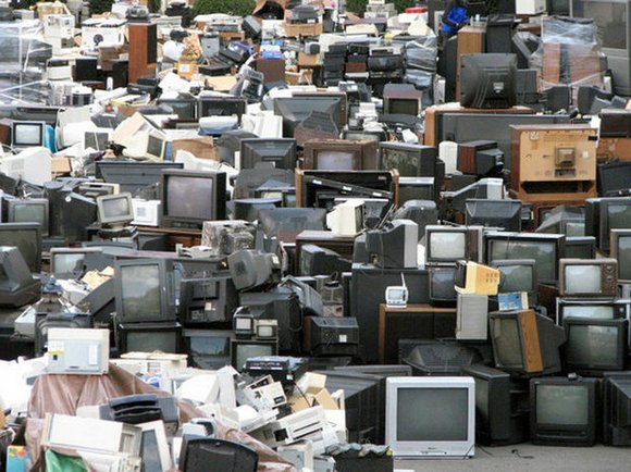 Recycling programs are going out of business because they can't make enough money from the heavy led-filled computers and television ...