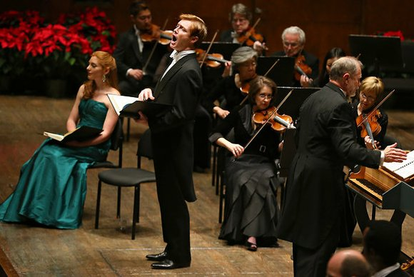 A boy soprano and added period instruments give renewed energy to a stellar Holiday tradition NEW YORK--The added innovations of ...