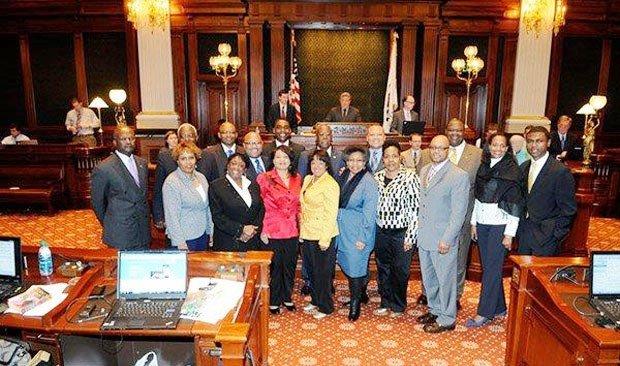 illinois legislative black caucus sponsored new laws that