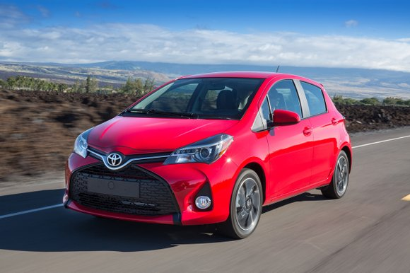 You wouldn't think that there is much to say about a car that costs $16,815. But the 2017 Toyota Yaris ...