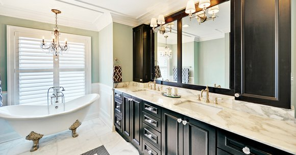 With so much time spent in the bathroom, it is important to give that space a little TLC like the ...