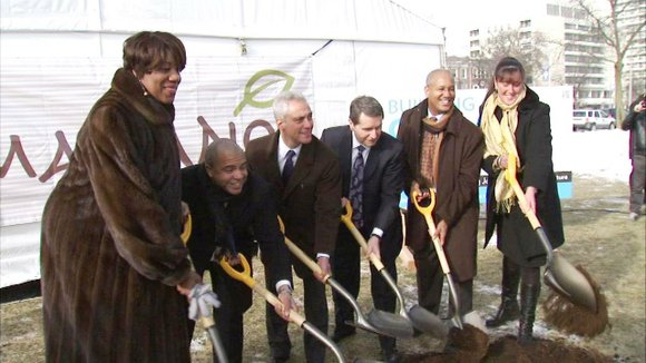 Chicago Mayor Rahm Emanuel was in the Bronzeville neighborhood recently to break ground on the new Mariano's grocery store that's ...