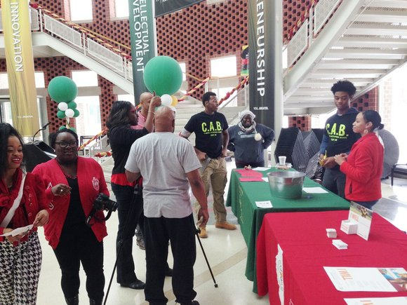 Members of the Chicago State University (CSU) student government association (SGA) recognized National Black HIV/AIDS Awareness Day (NBHAAD) last week ...