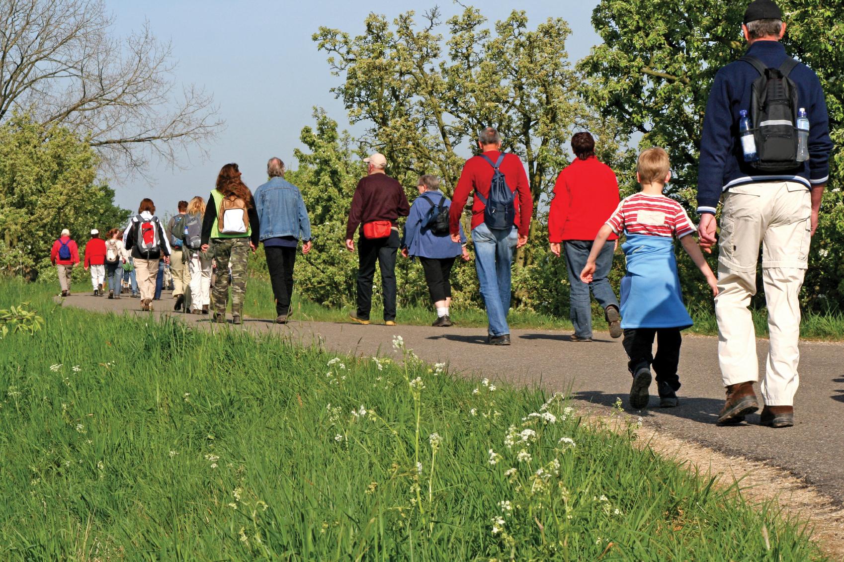 walking health benefits community
