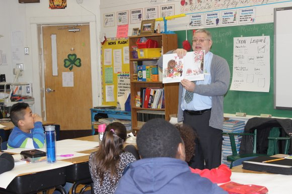 Forest Park Individual Education School celebrated World Read Aloud Day by having community members visit the school and read to ...