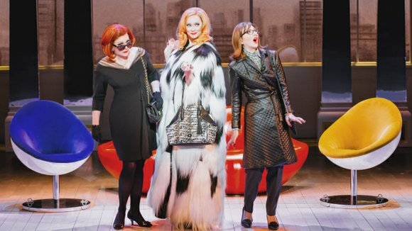 "The pre-Broadway opening of Broadway In Chicago's new production of ""First Wives Club"" at the Oriental Theatre (through March 29, ..."