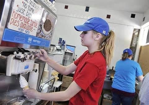 summer job for teens