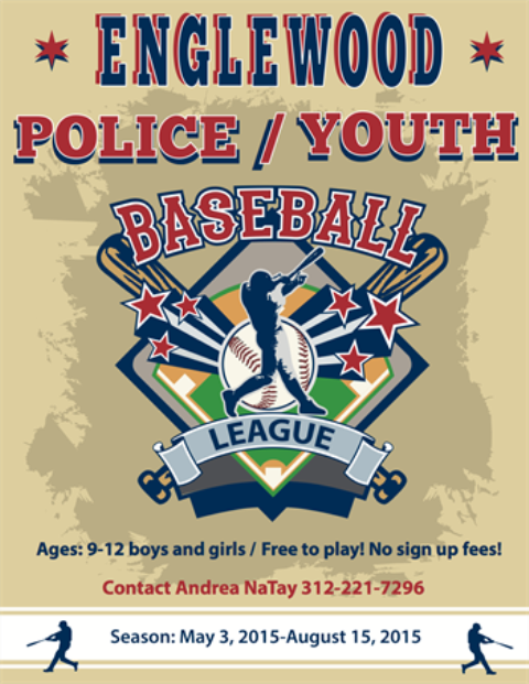 Play ball! In partnership with the Chicago Police Department's (CPD) 7th District Chicago Alternative Policing Strategy (CAPS) program at Hamilton ...