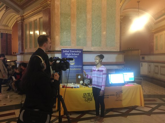 Six Joliet Township High School students spoke to state legislators last week at the annual Illinois Association for Career and ...