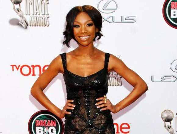 "Grammy Award winner-Brandy, is debuting on Broadway this month as a woman behind bars in ""Chicago."""