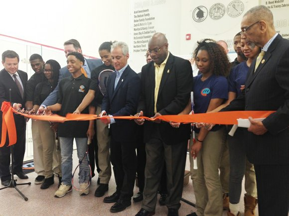 MetroSquash opened its first free-standing 21,000 sq. ft. academic and squash center in Chicago's Woodlawn community at 6100 S. Cottage ...