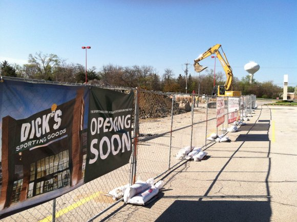 A new Walmart in New Lenox was under construction when the economy turn sour in late 2008. The tax money ...