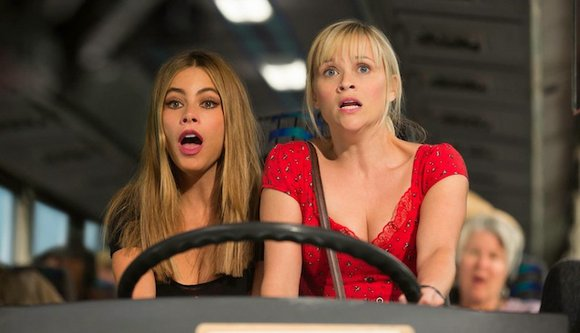 Hot Pursuit (PG-13 for sexuality, profanity, violence and drug use) Road comedy about a straitlaced police officer (Reese Witherspoon) who ...