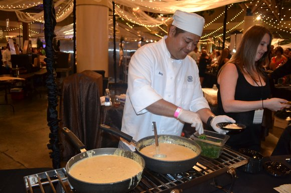NEW ORLEANS---The Grand Tastings at the New Orleans Convention Center are the centerpiece events of the 2015 New Orleans Wine ...