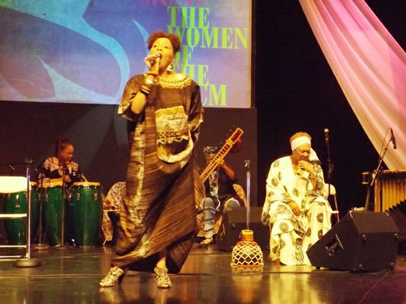 Celebrating their 50th year anniversary, Women of the Association for the Advancement of Creative Musicians (AACM) wowed the audience who ...