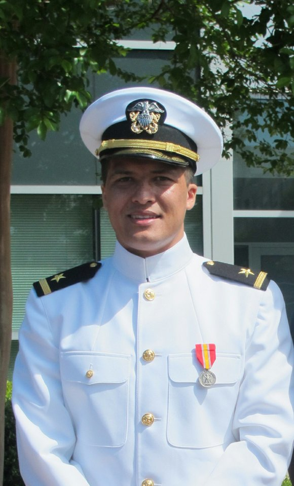 Sunny McIver, a 2011 graduate of Etiwanda High School, was commissioned recently as a United States Naval Officer at Hampton ...