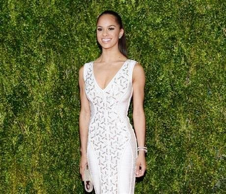 In this June 7, 2015 file photo, Misty Copeland arrives at the 69th annual Tony Awards at Radio City Music ...
