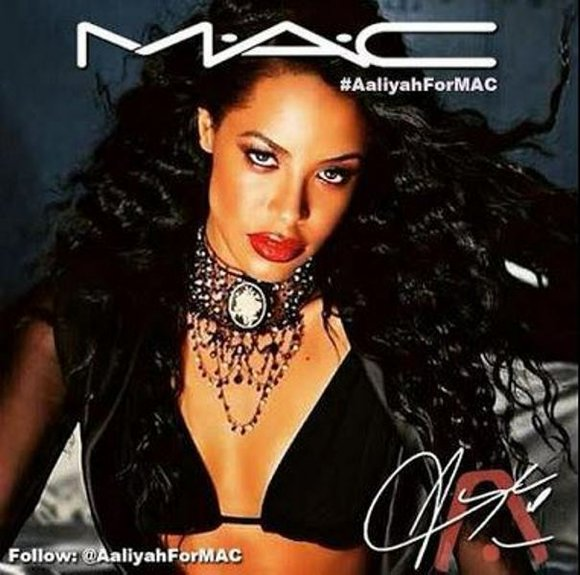 Fans of Aaliyah have started a petition in hopes that it will land the late singer her own MAC cosmetics ...