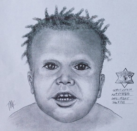 Chicago Police Department (CPD) superintendent Garry McCarthy held up a sketch of a toddler whose remains were found in the ...