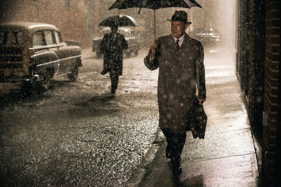 Bridge of Spies (PG-13 for violence and brief profanity) Cold War thriller about a lawyer (Tom Hanks) recruited by the ...