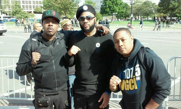 When he marched in Washington DC this past weekend on the 20th anniversary of the Million Man March, Joliet resident ...