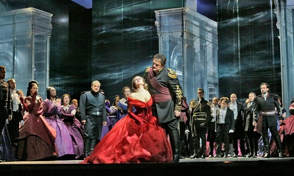 NEW YORK--The Met Live HD performance of Giuseppe Verdi's OTELLO occurred several week's after the Season Opening Gala Performance of ...