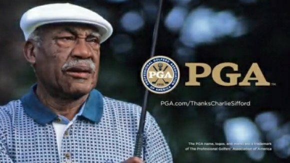 """African-American golfer Charlie Sifford, who was often times referred to as the """"Jackie Robinson of golf"""" for his groundbreaking legacy ..."""