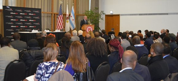U.S. Senator Dick Durbin (D-IL) recently hosted an assembly of U.S. diplomats, development specialists and economic empowerment experts during a ...