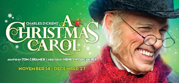 Goodman Theatre fills with cheerful holiday humbuggery as Charles Dickens' enduring classic A Christmas Carol returns for its 38th year, ...