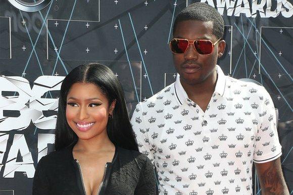Nicki Minaj promised to keep boyfriend Meek Mill on the straight and narrow as a judge threatened jail over his ...