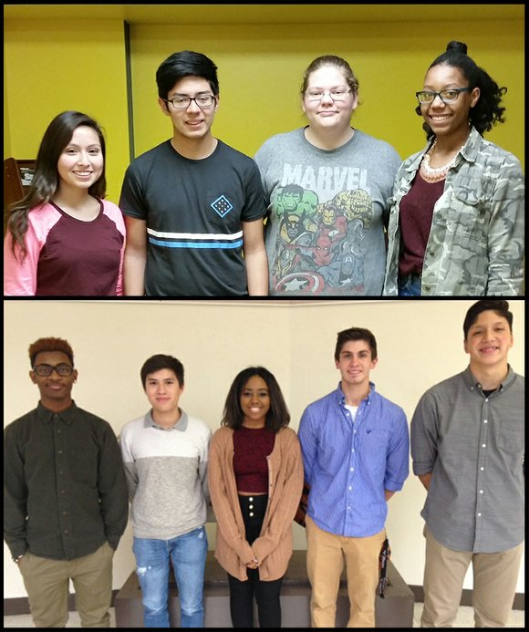 Joliet Township High School Students of the Month are nominated based upon character, citizenship, dependability, academic performance, and maturity.