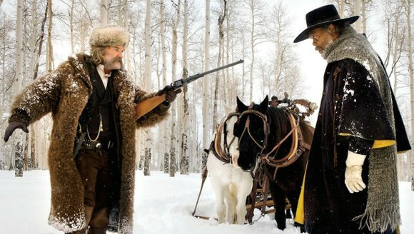 <strong>The Hateful Eight</strong> (R for profanity, frontal nudity, graphic gore and a scene of eroticized violence) Quentin Tarantino directed this ...