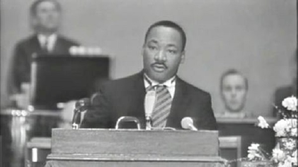 summary of the quest for peace and justice by martin luther king jr Americans across the country will celebrate martin luther king jr day on monday by committing to hours of community service in the name of in the speech, king noted that he first questioned why the civil rights movement received the award, when it had not yet won the very peace and brotherhood.