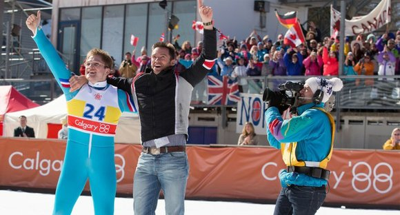 <strong>Eddie the Eagle</strong> (PG-13 for smoking, partial nudity and suggestive material) Inspirational biopic about British ski jumper Eddie Edwards (Taron ...