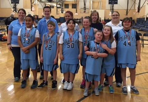 The Troy Community School District 30-C Special Olympics Basketball Team brought home bronze medals this month, after taking third place ...