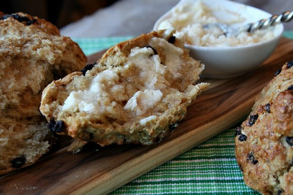 Soda Bread and Honey Butter