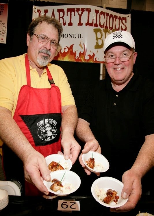 "The menu at the annual Eighth Annual ""Men Who Cook"" culinary competition has been planned by roughly 50 local guys ..."